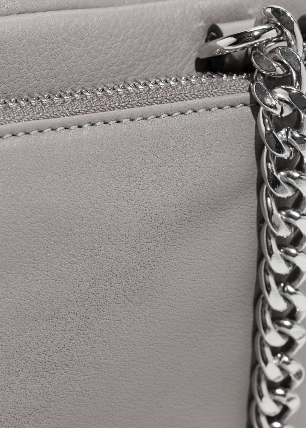 Detailed image of Stories trio pocket crossbody  in grey