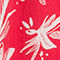 Fabric Swatch image of Stories sleeveless frill dress in red