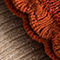 Fabric Swatch image of Stories metallic socks gift set in orange