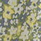 Fabric Swatch image of Stories floral printed wrap dress in blue