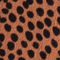 Fabric Swatch image of Stories floral midi wrap dress in orange