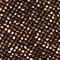 Fabric Swatch image of Stories glitter triangle bikini top in gold