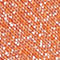 Fabric Swatch image of Stories glitter rib knit ankle socks in orange