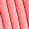 Fabric Swatch image of Stories ribbed v-neck polo knit top in pink