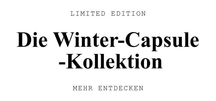 LIMITED EDITION. Die Winter-Capsule U000D -Kollektion. MEHR ENTDECKEN.